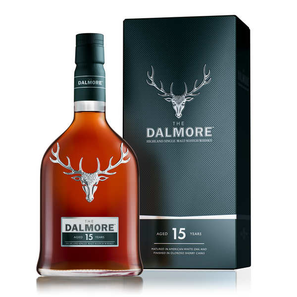 Dalmore 15-year-old single malt whisky - 40%