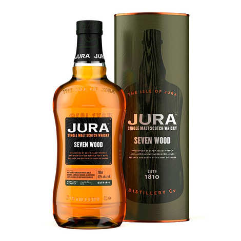 Isle of Jura - Jura Seven Wood Single Malt Scotch Whisky 40%