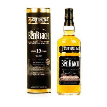 Benriach Curiositas - 10 years old - Single Malt Whisky - 46%