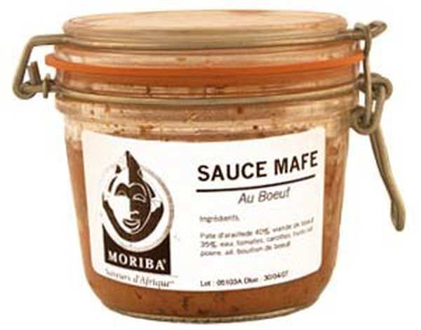 Sauce Mafé au boeuf