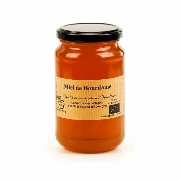 Miel de bourdaine d'Auvergne bio