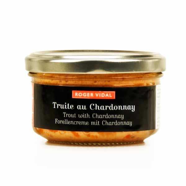 Terrine de truite au chardonnay