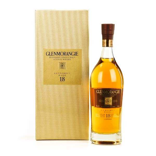 Whisky Glenmorangie 18 years old - single malt - 43%