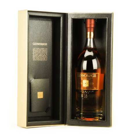 Glenmorangie - Whisky Glenmorangie 18 years old - single malt - 43%