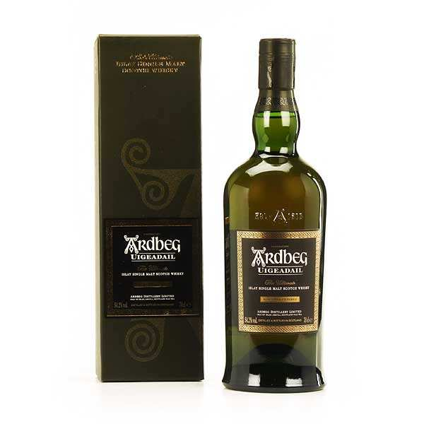 Whisky Ardbeg Uigeadail - single malt - 54,2%