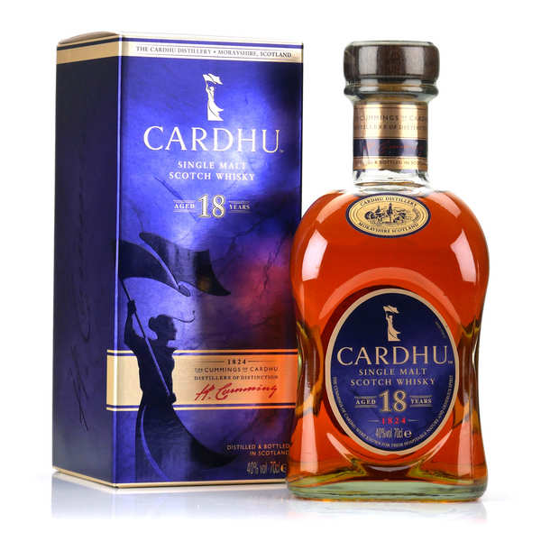 Whisky Cardhu 18 ans - single malt - 40%