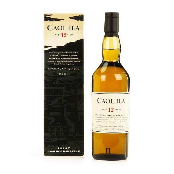 Whisky Caol Ila 12 ans - single malt - 43%