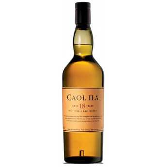 Caol Ila - Caol Ila 18 years old- 43% - single malt whisky