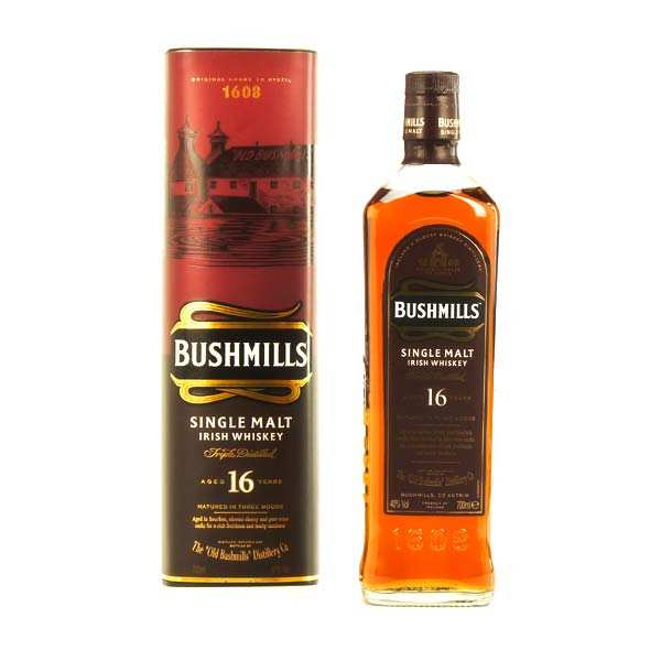 Bushmills malt 16 ans - whisky single malt - 40%