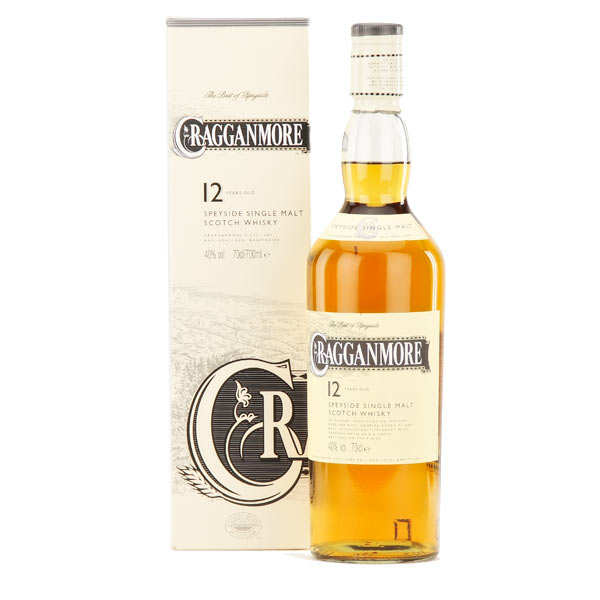 Whisky Cragganmore 12 ans - 40% - single malt