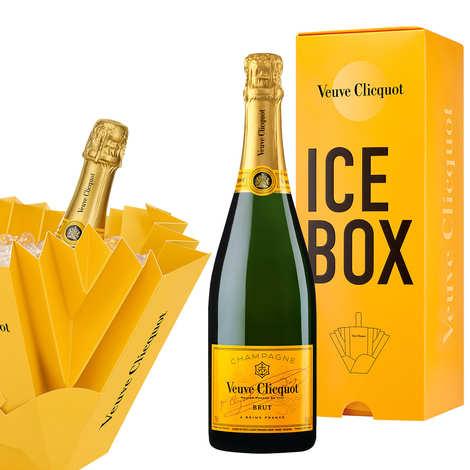 Veuve Clicquot Ponsardin - Metallic fridge - Veuve Cliquot Ponsardin champagne- Brut carte jaune