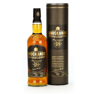 Knockando - Knockando slow-matured 18-year-old whisky - single malt - 43%
