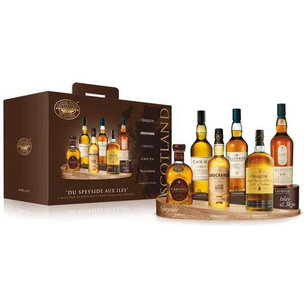 Sélection whisky single malts
