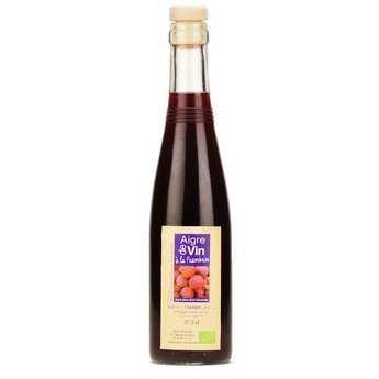 Aigre-doux Sud Cévennes - Vinaigre artisanal à la framboise bio sans sulfites