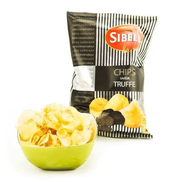 Chips saveur truffe