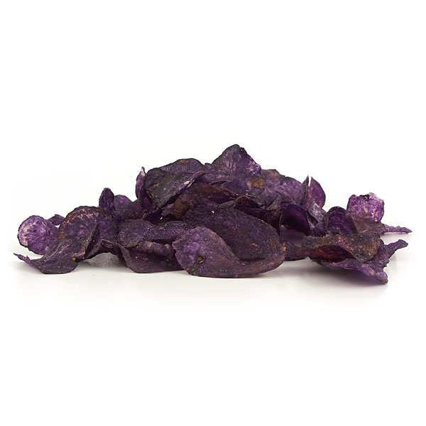 Vitelotte Violet Potato Crisps