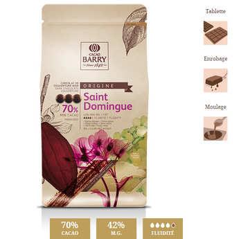Cacao Barry - Chocolat de couverture noir 70% de Saint-Domingue
