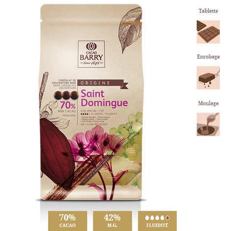 Cacao Barry - Dark chocolate couverture Santo Domingo - 70%