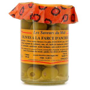 Azaïs-Polito - Olives à la farce d'anchois