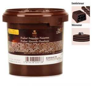 Cacao Barry - Almond and hazelnut praline 50% dry fruits