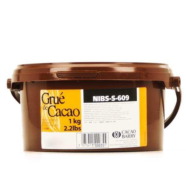 Grué de cacao, éclats de cacao torréfiés