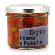Saveurs Sud - Catalan Escalivada - onion, sweet pepper & pistachio spread