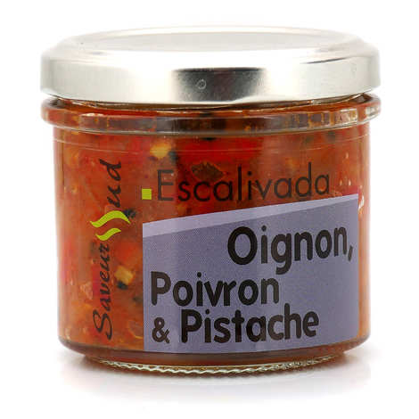 Saveurs Sud - Catalan Escalivada - onion, sweet pepper & pistachio spread