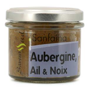 Saveurs Sud - Légumes à tartiner Sanfaina (Aubergine, Ail, Noix)