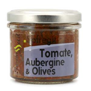 Saveurs Sud - Légumes à tartiner Sofregit (tomate, aubergine, olive, épices)