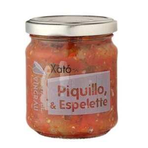 Saveurs Sud - Piment Piquillo au piment d'Espelette à tartiner (Xato)