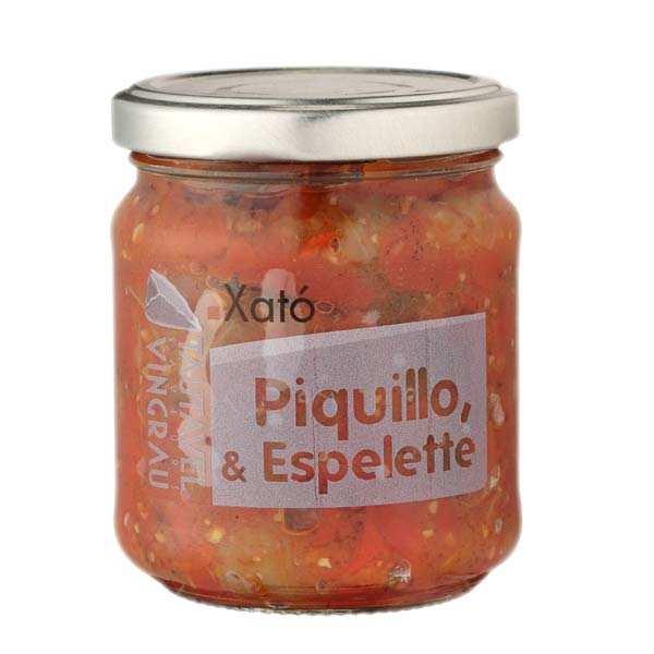 Piment Piquillo au piment d'Espelette à tartiner (Xato)