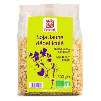 Celnat - Soja jaune dépelliculé bio