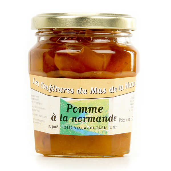 Organic Normandy Style Apple Jam