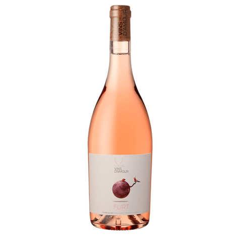 Clos des Vins d'Amour - Flirt Organic rosé - AOP Côtes du Roussilon 12.5%