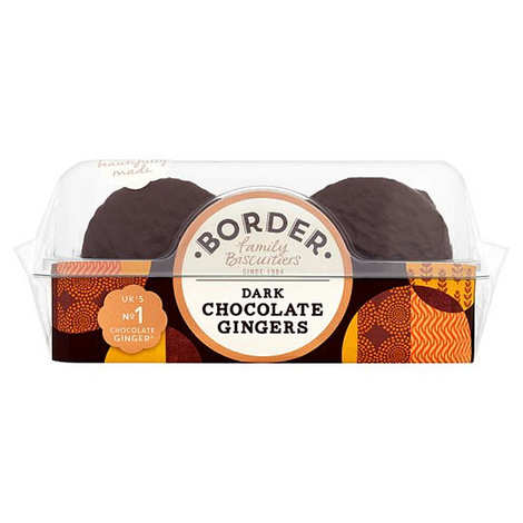 Border Biscuits - Border Dark Chocolate Ginger Biscuits