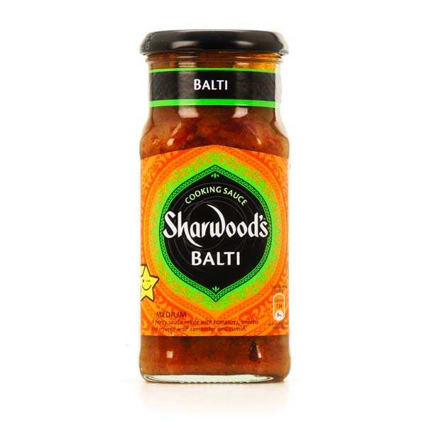 Sauce Balti Sharwood - curry indien