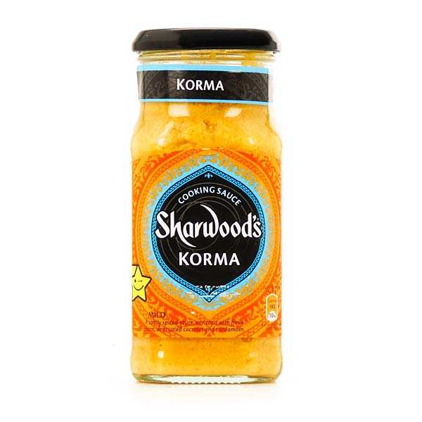 Korma mild cooking sauce