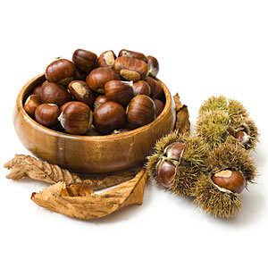 - Marrons des Cévennes frais (grosses châtaignes)