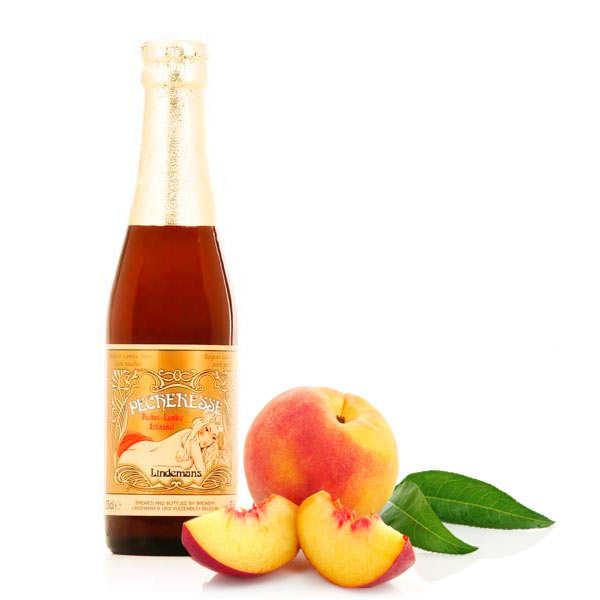 Lindemans Pécheresse - bière belge légère à la pêche - 2,5%
