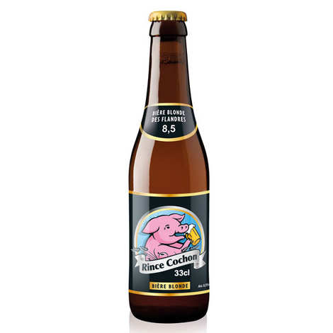 Rince Cochon - Rince Cochon - Bière belge blonde - 8,5%
