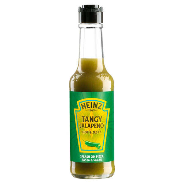 Heinz Tangy & Sharp Green Jalapeno Hot Sauce