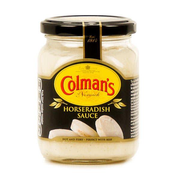 Horseradish sauce - Sauce au raifort - 250ml