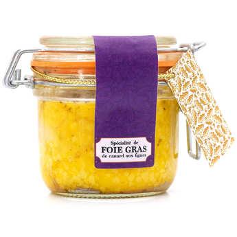 Foie gras GA BESSE - Foie gras de canard entier aux figues