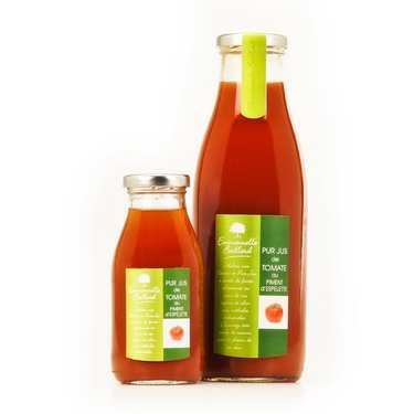Pure Tomato Juice with Espelette Chilli
