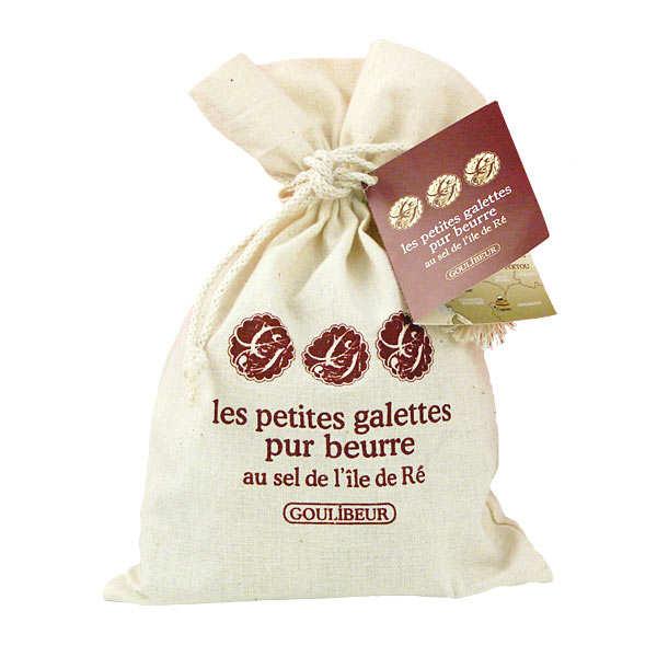 Galettes pur beurre au sel de l'île de Ré