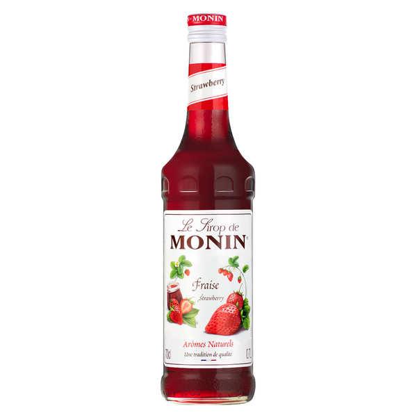 Sirop de fraise Monin