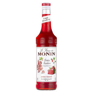 Monin - Candy strawberry syrup Monin