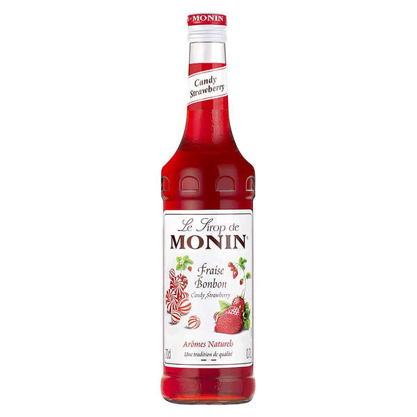 Candy strawberry syrup Monin