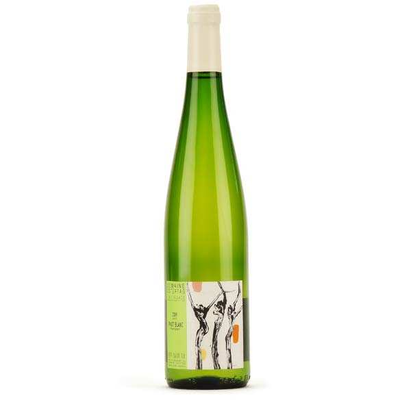 """Organic Pinot blanc """"Barriques"""" du domaine Ostertag"""