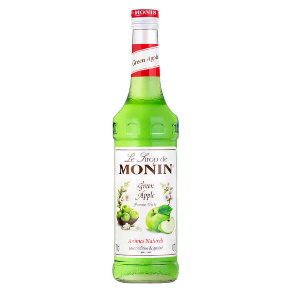 Green apple syrup Monin
